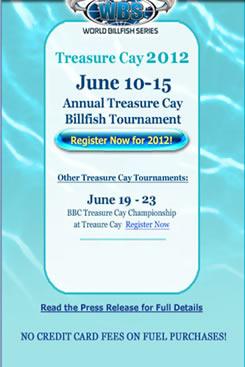 Treasure Cay Billfish Tournament