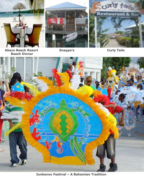 Abaco Restaurants and Festival