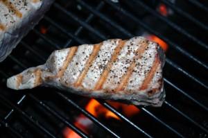 Grilled Yellow Fin Tuna